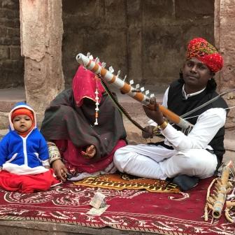 Traditional music Rajasthan