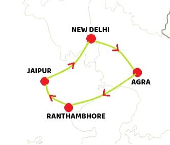 Taj Tiger Tour India